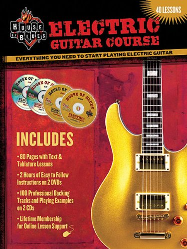 9780978983277: House Of Blues Presents: Electric Guitar Course