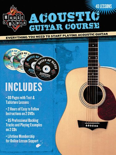 House Of Blues Presents: Acoustic Guitar Course (0978983289) by John McCarthy