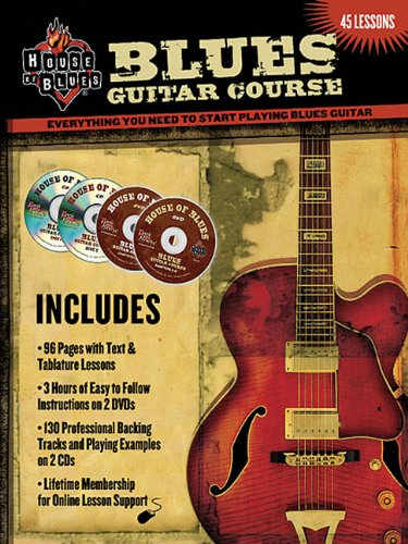 9780978983291: Blues Guitar Course: Everything You Need to Start Playing Blues Guitar (House of Blues)