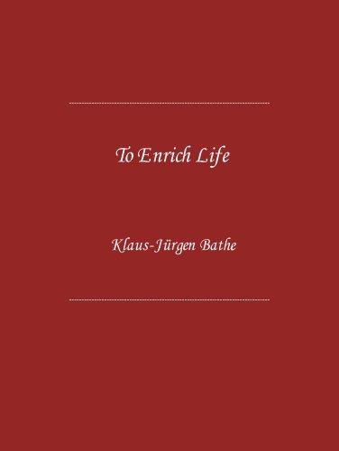 To Enrich Life: Klaus-Jurgen Bathe