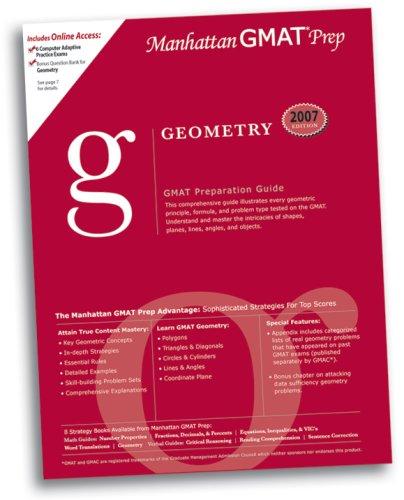 Geometry GMAT Preparation Guide (Manhattan GMAT Preparation: Manhattan Gmat Prep