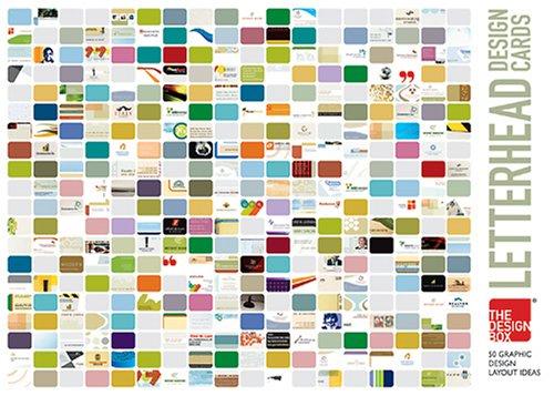 9780979027413: The Design Box Letterhead Design Cards: 50 Graphic Design Layout Ideas