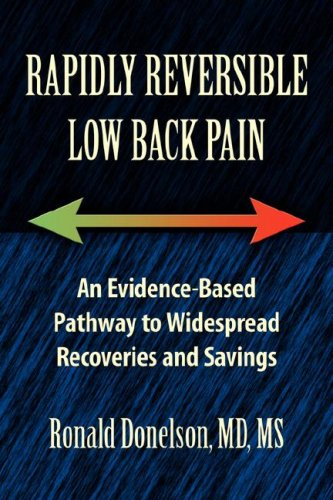 9780979038709: Rapidly Reversible Low Back Pain
