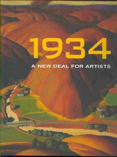 9780979067846: 1934: A New Deal for Artists[ 1934: A NEW DEAL FOR ARTISTS ] by Wagner, Ann Prentice (Author) Aug-01-09[ Hardcover ]