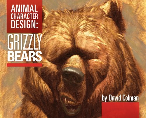 9780979068621: Animal Character Design:Grizzly Bears