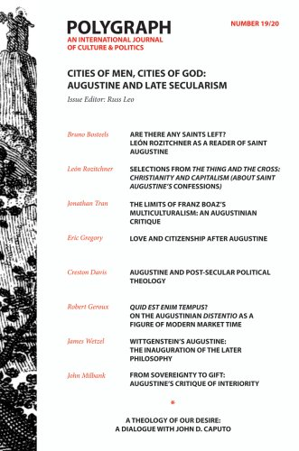 9780979071515: Polygraph 19/20: Cities of Men, Cities of God: Augustine and Late Secularism