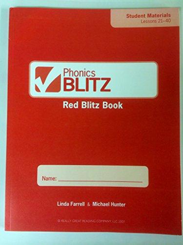Phonics Blitz Red Blitz Book, Student Materials: Linda Farrell; Michael