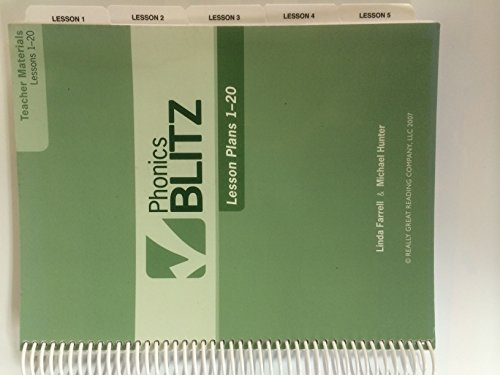 Phonics Blitz Lesson Plans 1-20 (Teacher Materials): Michael Hunter, Linda
