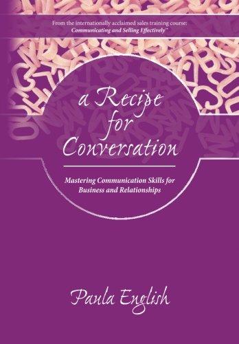 9780979086311: A Recipe for Conversation