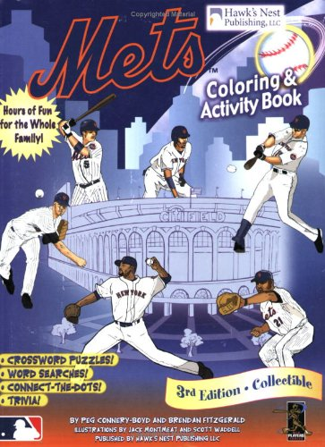 9780979087295: Mets Coloring and Activity Book