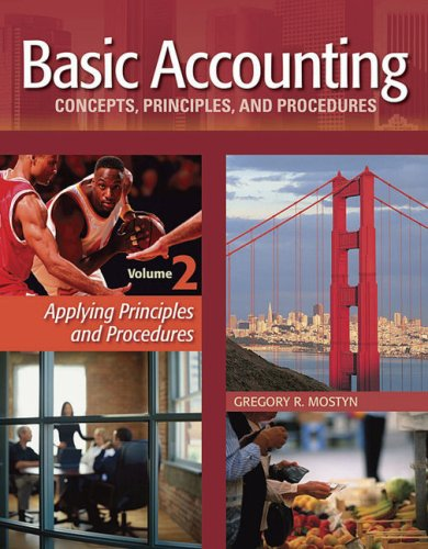 9780979149498: Basic Accounting Concepts, Principles and Procedures, Vol. 2