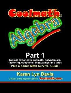 Coolmath Algebra Part 1: Karen Lyn Davis