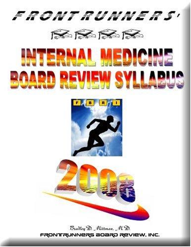 9780979192517: Frontrunners' Internal Medicine Board Review