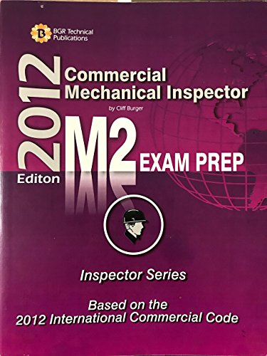 9780979219177: Commercial Mechanical Inspector: Study Guide & Practice Questions Workbook for the Icc M-2 Certification Exam (2008-05-03)