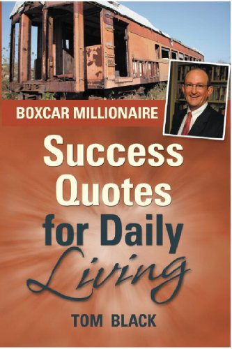 9780979242311 Boxcar Millionaire Success Quotes For Daily Living