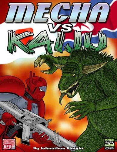 9780979245534: Mecha vs Kaiju (BFN2300, True20)