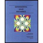 9780979258183: Experimental Solid Mechanics