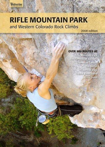 9780979264436: Rifle Mountain Park and Western Colorado Rock Climbs