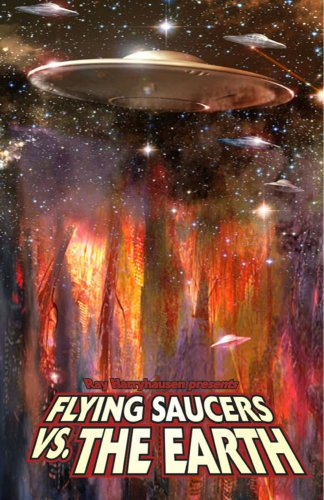 9780979275159: Ray Harryhausen Presents: Flying Saucers vs. the Earth