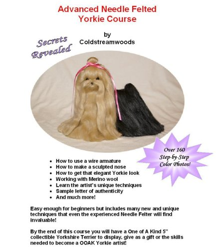 9780979284007: Advanced Needle Felted Yorkie Course