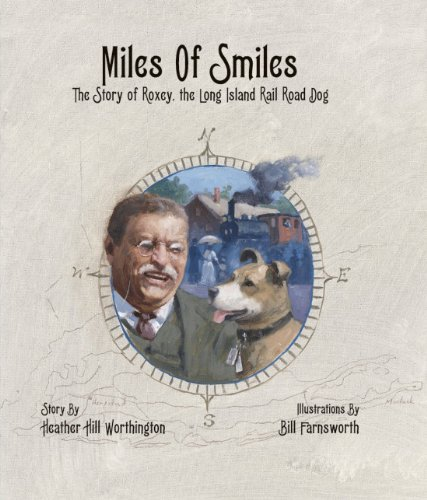 9780979291845: Miles Of Smiles: The Story of Roxey, the Long Island Rail Road Dog