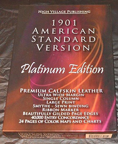 9780979306037: The Holy Bible, 1901 American Standard Version (ASV) - Platinum Edition - Wide Margin