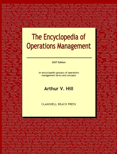 9780979310508: The Encyclopedia of Operations Management