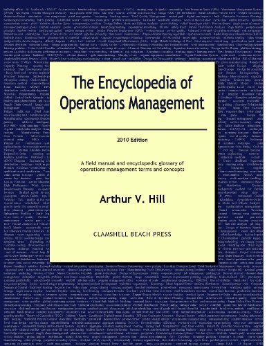 9780979310522: The Encyclopedia of Operations Management - 2010 Edition