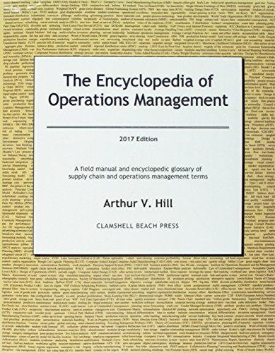 9780979310553: The Encyclopedia of Operations Management - 2016 Edition