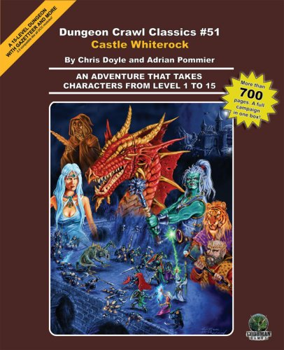 9780979332944: Castle Whiterock (Dungeon Crawl Classics)