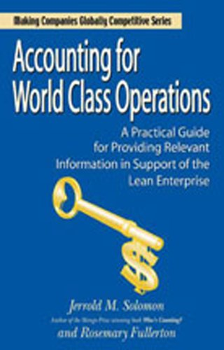 9780979333101: Accounting for World Class Operations (Winner of the Shingo Prize for Manufacturing Excellence)
