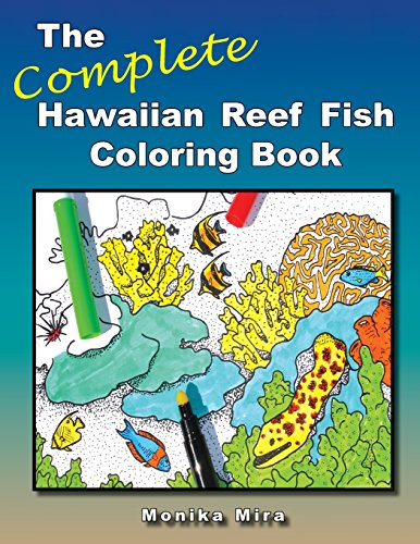 9780979337406: The Complete Hawaiian Reef Fish Coloring Book