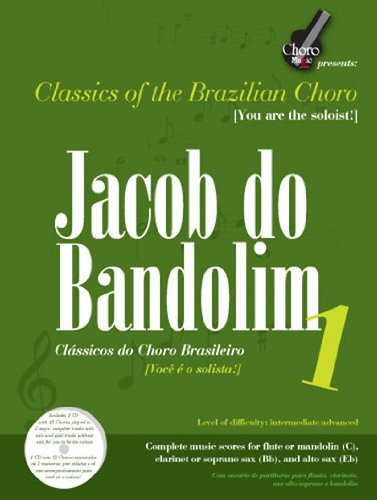 9780979339684: Jacob Do Bandolim 1: Classics of the Brazilian Choro/ Classicos Do Choro Brasileiro