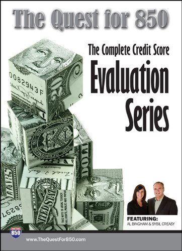 9780979369520: The Quest for 850 - Your Video Guide to a Better Credit Score