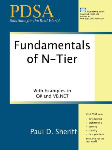 Fundamentals of N-tier Architecture, by Sheriff: Sheriff, Paul D.