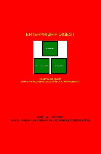 9780979375033: Enterpriship Digest