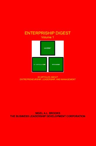 9780979375040: Enterpriship Digest