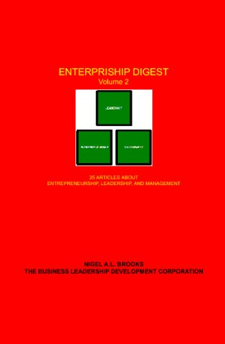 9780979375057: Enterpriship Digest