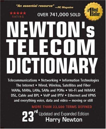 9780979387302: Newton's Telecom Dictionary