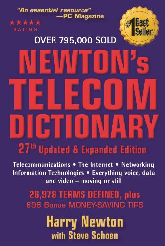 9780979387364: Newton's Telecom Dictionary: Telecommunications, Networking, Information Technologies, The Internet, Wired, Wireless, Satellites and Fiber