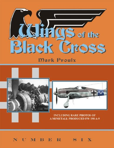 9780979403545: Wings of the Black Cross: Photo Album of Luftwaffe Aircraft