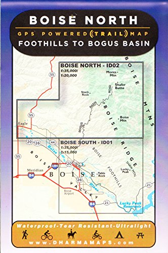 9780979413254: Boise North: GPS Powered Map