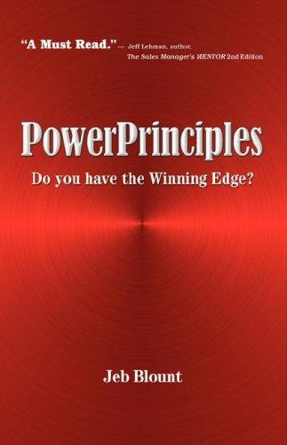 PowerPrinciples: Do you have the Winning Edge?: Blount, Jeb