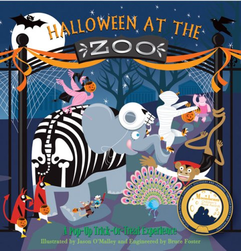 9780979544101: Halloween at the Zoo: A Pop-Up Trick-Or-Treat Experience