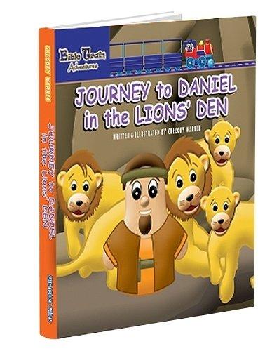 9780979554162: Journey to Daniel in the Lions' Den Board Book: Bible Train Adventures