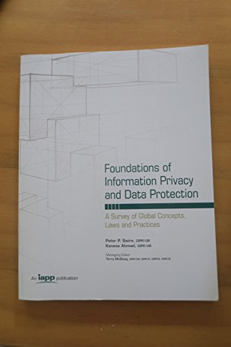Foundations of Information Privacy and Data Protection: Desconocido