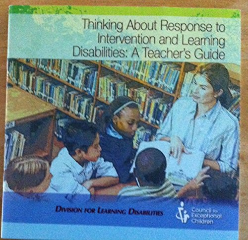 9780979598708: Thinking About Response to Intervention and Learning Disabilities: A Teacher's Guide