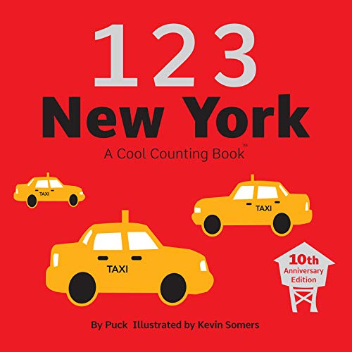 9780979621307: 123 New York: A Cool Counting Book (Cool Counting Books)