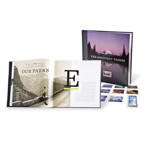 9780979656927: The Grandest Things: Our National Parks in Words, Images, and Stamps