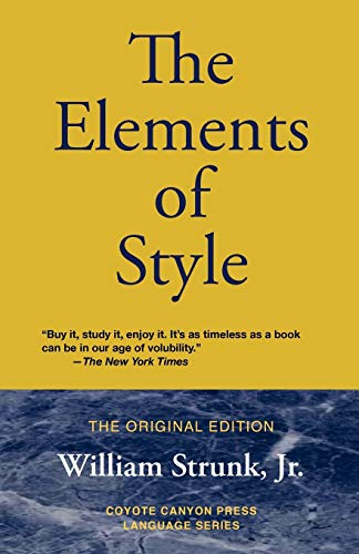 9780979660740: The Elements of Style (Coyote Canyon Press Language)